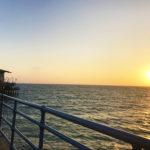 夕日が映えるおしゃれな町、サンタモニカ