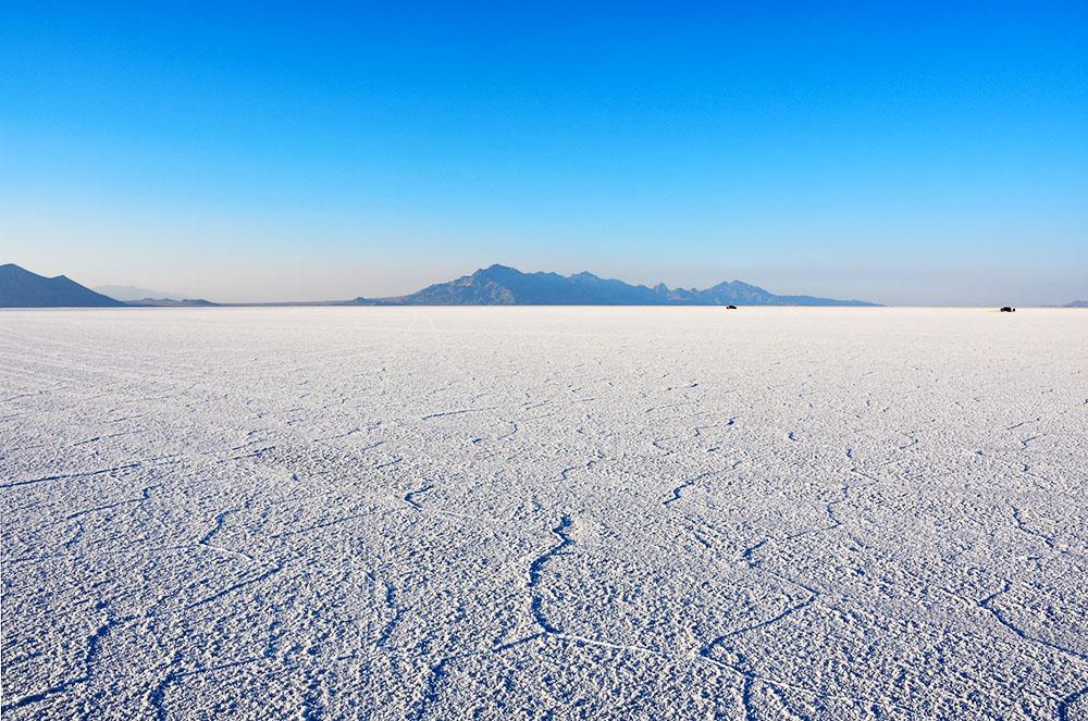 アメリカの美しい塩湖、ボンネビル・ソルト・フラッツの魅力