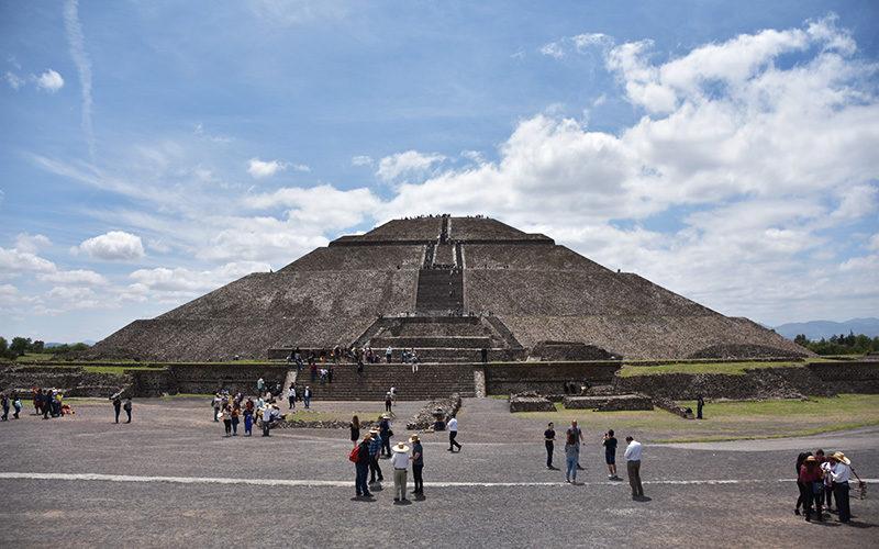 メキシコ最大の遺跡・テオティワカン