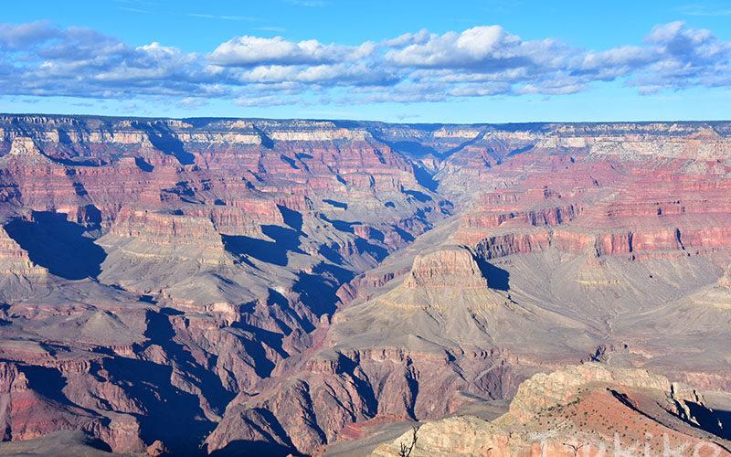 壮大な大地のアートが広がるグランド・キャニオン国立公園