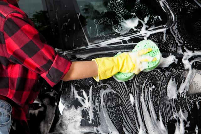 アメリカで人生初のセルフ洗車