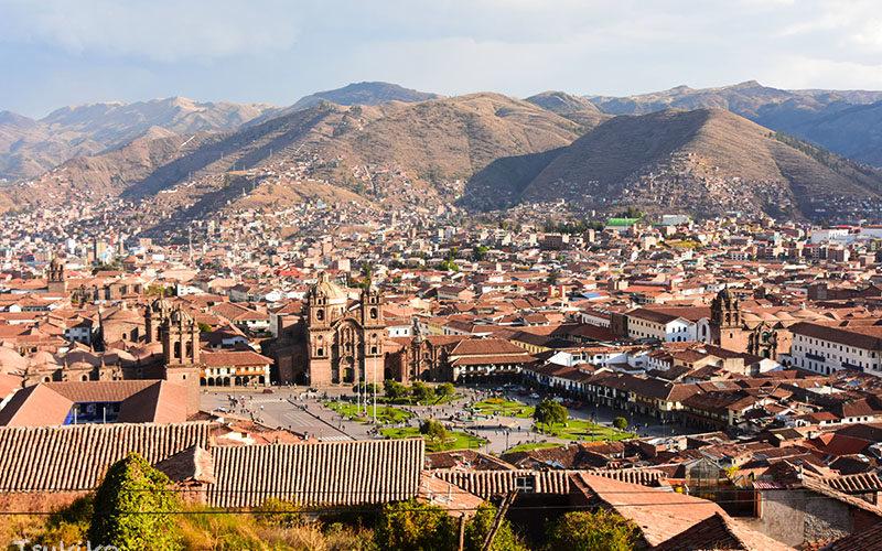 美しい町並みが広がるペルー、クスコの町歩き