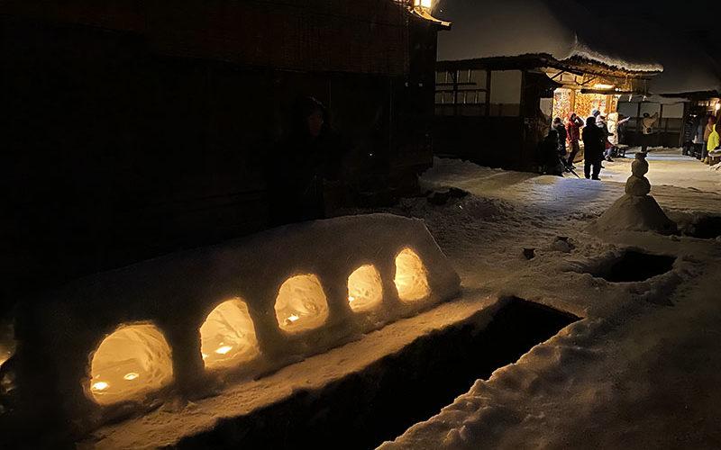 冬の福島・会津へ - 雪、温泉、史跡めぐり -