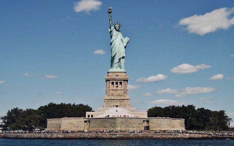 憧れのニューヨーク、自由の女神を見に行こう