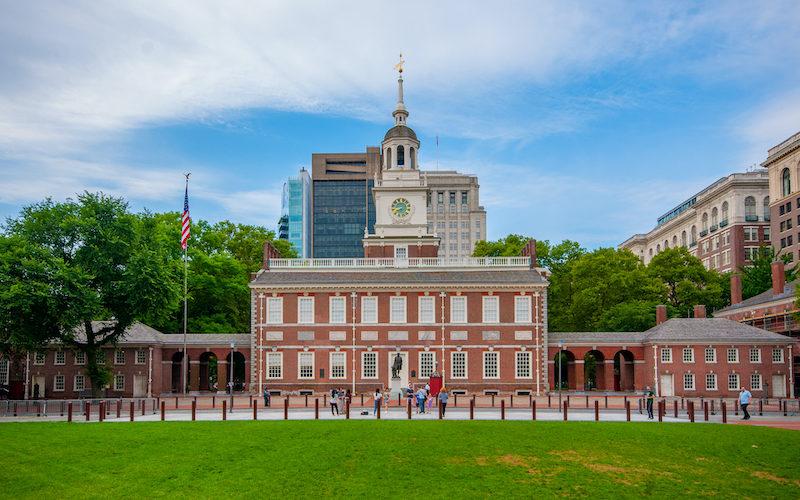 アメリカ建国の聖地、フィラデルフィアの独立記念館
