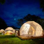 富士山の麓でグランピング!「PICA Fujiyama」のドーム型テントでロマンチック体験